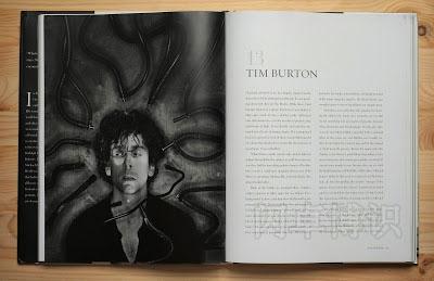 书本中肖像照排版的展示图