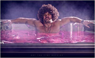 电影《热浴盆时光机》里的迷幻照片