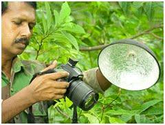 印度南部的闪卓博识读者Sinu Kumar